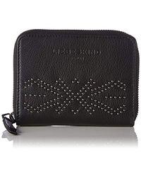 Liebeskind Berlin - Connyw7 Studded Zip Around Leather Wallet Wallet - Lyst