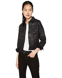 AG Jeans - Robyn Coated Denim Jacket - Lyst