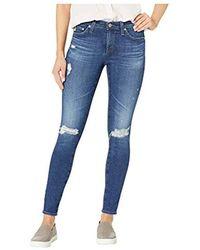 0542732ece9b6 AG Jeans Prima Crop in Blue - Save 55% - Lyst