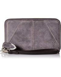 Frye - Jacqui Zip Around Phone Wallet - Lyst