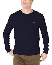 b2758b83a Tommy Hilfiger - T Shirt Long Sleeve Tee Classics Collection - Lyst