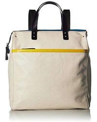 Orla Kiely - Cream Backpack - Lyst
