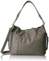Steve Madden - Handbags Drew Outside Pockets Hobo That Can Convert To Crossbody - Lyst