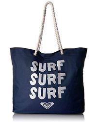 Roxy - Tropical Vibes Tote Beach Bag - Lyst