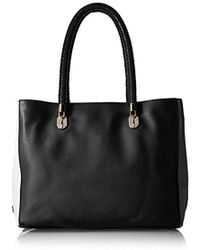 4824739473 Calvin Klein Signature Bag East/west Tote in Brown - Lyst