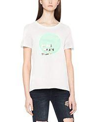 Vero Moda - Jenny Short Sleeve Graphic Tee Shirt - Lyst