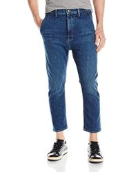 Vince - Cropped Denim Trouser - Lyst