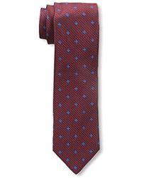 Franklin Tailored - Flower Textured Tie - Lyst