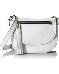 MILLY - Astor Saddle Cross-body Bag - Lyst