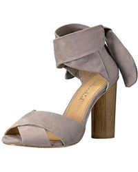0165e6d62e6 Lyst - Splendid Johnson Suede Block Heels in Brown