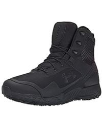 Under Armour Ua Valsetz Rts Side Zip Low Rise Hiking Shoes - Black