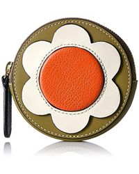 Orla Kiely - Giant Flower Leather Hanging Purse - Lyst