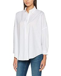 French Connection - Rhodes Polin Light Weight Long Sleeve Oversized Blouse - Lyst
