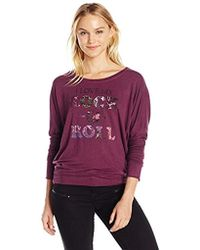 William Rast - Veruca Rock And Roll Sweatshirt - Lyst