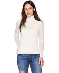 a02e35ab089 Only Hearts - Tulle Long Sleeve Turtleneck 2 Ply - Lyst
