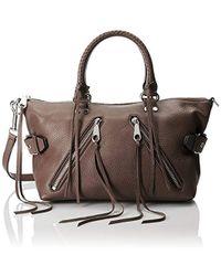 Rebecca Minkoff - Moto Satchel Top Handle Bag - Lyst