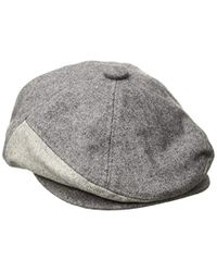 KTZ - Cap Ek Gray Fabric Mix 7panel Driver Hat - Lyst