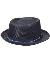 dde82746e821f Lyst - Ben Sherman  cord Lane  Baseball Cap in Blue for Men