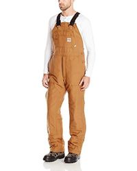 Carhartt - Flame Resistant Duck Bib Lined Overall - Lyst