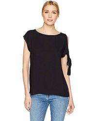 Ella Moss - Tie Shoulder Top - Lyst