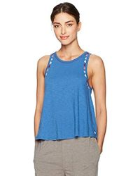Lucky Brand - Embroidered Sleep Tank - Lyst