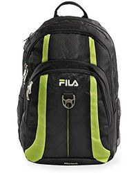 aa368a06b4 Lyst - Fila Contrast Logo Backpack in Red for Men