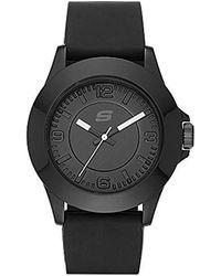 Skechers - Sr6024 Analog Display Quartz Black Watch - Lyst