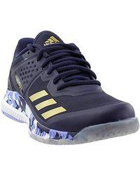 2795de14fe6a Lyst - adidas Crazyflight Bounce W Volleyball Shoe in Blue