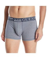 Guess - Yarn Dyed Stripe Boxer Trunks - Lyst