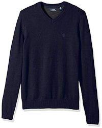 Izod - Premium Essentials Fine Gauge Solid V-neck Sweater - Lyst