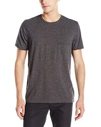 7 For All Mankind - Short Sleeve Raw Pocket T-shirt - Lyst