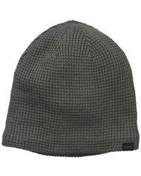 0ce989b0131420 Lyst - Levi's Warm Winter Knit Skullie Beanie in Green for Men ...