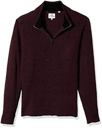 Ben Sherman - Micro Quarter Zip Funnel Neck - Lyst