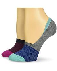 Keds - Meshy Sneaker Sock Liner 2 Pair Pack - Lyst