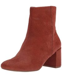 Taryn Rose - Cassidy Haircalf Ankle Boot - Lyst