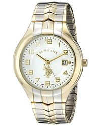 U.S. POLO ASSN. - Classic Usc80049 Two-tone Analogue White Dial Expansion Watch - Lyst