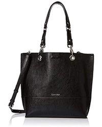 Calvin Klein - Reversible N/s Novelty Tote Bag - Lyst