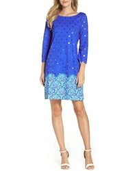 2d1d0a383 Lyst - Lilly Pulitzer Little Bay Dress in Blue