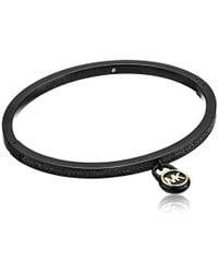 Michael Kors - S Steel & Pave Padlock Bracelet - Lyst