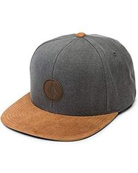 e44e791c9c45d Lyst - Volcom Quarter Fabric Hat - Army Green Combo - O/s in Gray ...