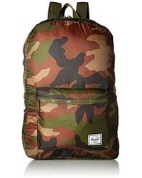 29316a6e5fe Lyst - Herschel Supply Co. Packable Daypack Backpack - Camo Men s ...