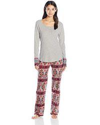 Lucky Brand - Henley Pajama - Lyst
