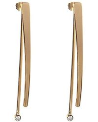 BCBGeneration - Bcbg Generation Linear Front Back Drop Earrings - Lyst