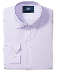 Buttoned Down - Tailored Fit Spread-collar Solid Pinpoint Non-iron Dress Shirt - Lyst