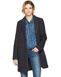 Marc New York - Paige Pressed Boucle Jacket - Lyst