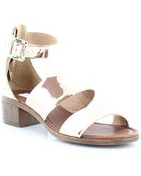4f8a72f6ffb Lyst - Steve Madden Daly Mule Flat Sandals in Pink