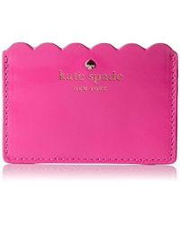 Kate Spade - Lily Avenue Patent Credit Card Holder - Lyst