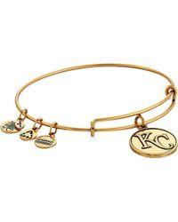 ALEX AND ANI - Kansas City Royals Cap Logo Expandable Bangle Bracelet - Lyst
