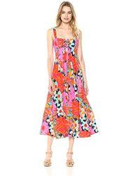 Mara Hoffman - Mei Lace Up Tank Ankle Dress - Lyst