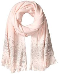 Calvin Klein - Ombre Crystal Studded Scarf, - Lyst